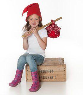 Kaboutermuts rood – Een goedkope kabouter muts voor kinderen